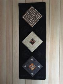 Vertical handmade Quilt