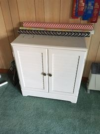 Small painted Storage Cabinet