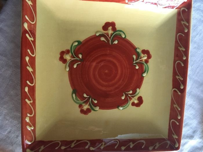 Square Plate from Spain