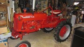 Restored Farmall Cub Tractor