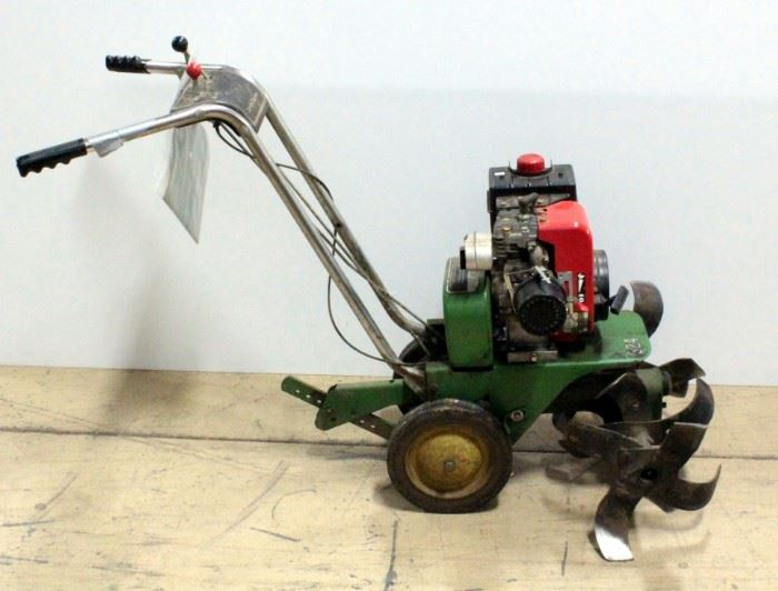 John Deere R324D Rotary Tiller With Manual