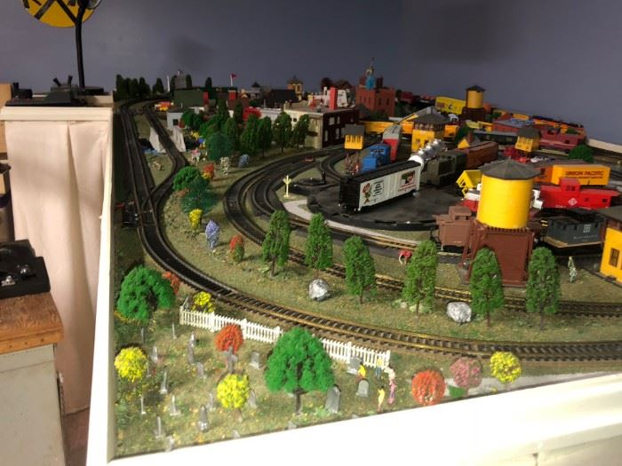 Model Train Table