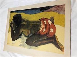 Gauguin Otahi Reproduction Framed Art