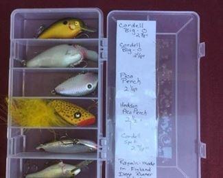 6 Vintage Fishing Lures