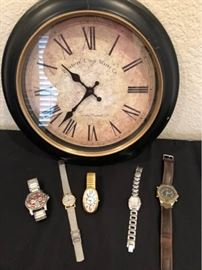 Clock and Watches
