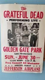 Grateful Dead Poster San Francisco