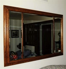 LARGE QUALITY WALL MIRROR