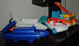 PART OF A HUGE PLASTIC TOY COLLECTION