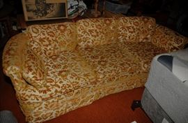 THIS IS UNUSUAL STYLE AND COLOR SOFA
