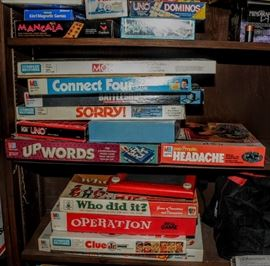 HUGE BOXED GAMES AND PUZZLES - BRING A TRUCK