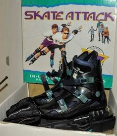 ROLLER BLADES AND PROTECTION