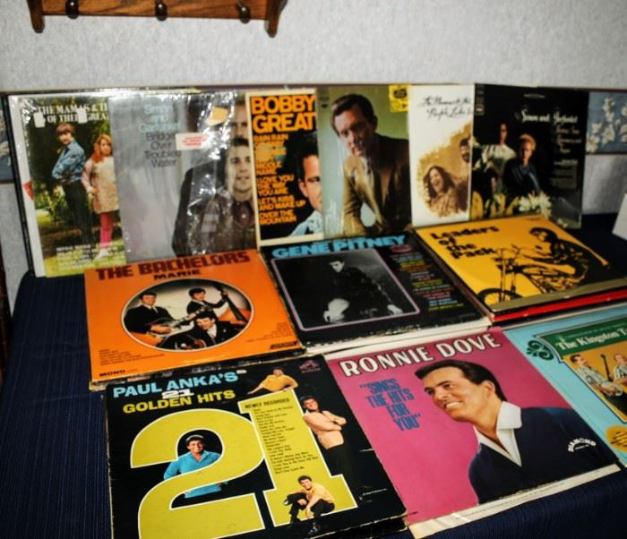 NICE SELECTION OF VINTAGE LP's