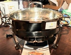 ELECTRIC CHAFING/SERVING PAN