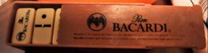 BACARDI ADVERTISING  DOMINO SET