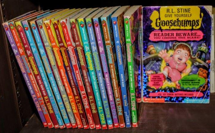 R.L. STONE GOOSEBUMPS BOOKS