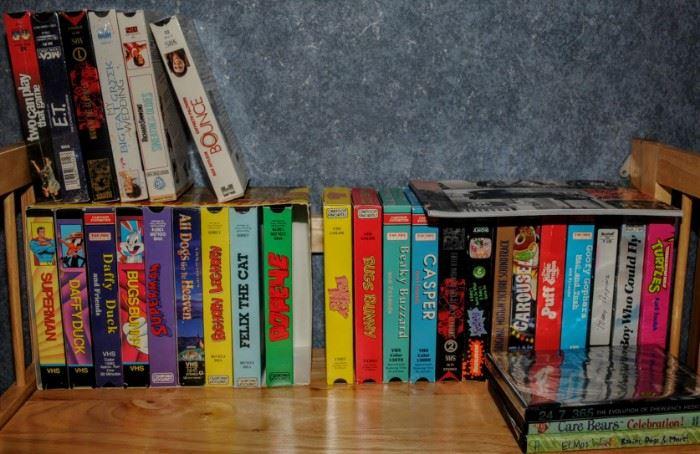VHS CARTOONS