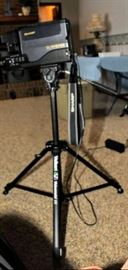 SHARP VHS CAMCORDER AND TRIPOD W/CHARGER AND EXTRA BATTERY