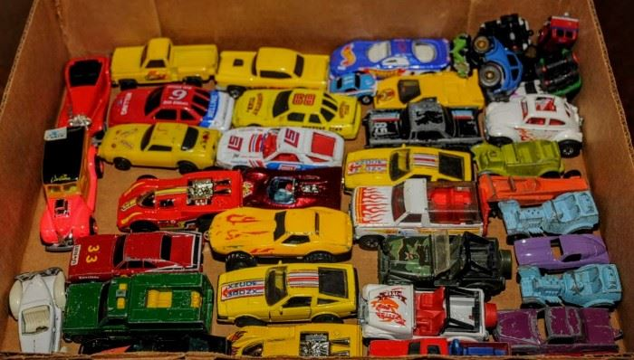 MORE TOY CARS