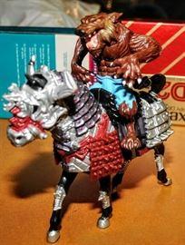 NINGA TURTLES VILLEIN ON HORSEBACK