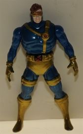 """RARE 3 1/2"""" ALL METAL ACTION FIGURE MARVELS CYCLOPS"""