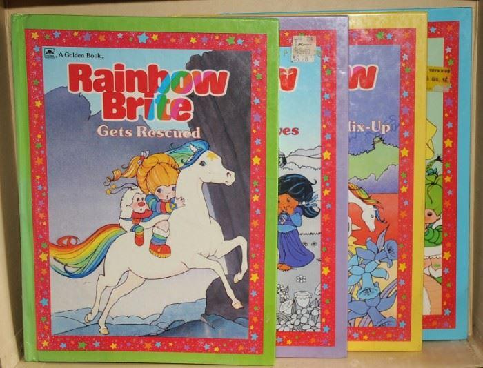 Rainbow Brite Happy Birthday Buddy Blue  Rainbow Brite and the Big Color Mix-up  Rainbow Brite and The Color Thieves Rainbow Brite Gets Rescued