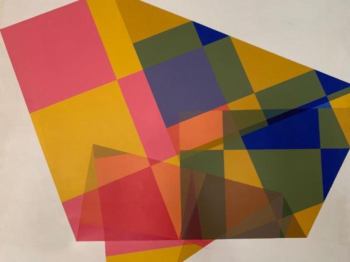 Abstract Art, Signed Rankin