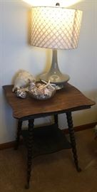 Lamp, Table and Shells
