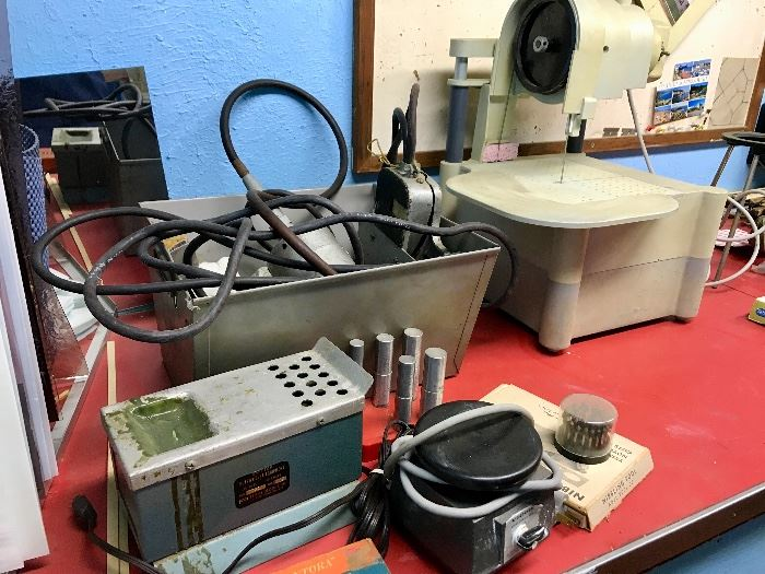 Ultraviolet jeweler's equipment, other equipment