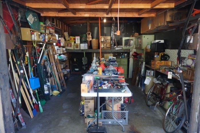 Garage full of goodies!