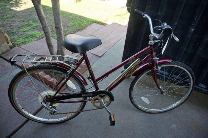 New vintage bike