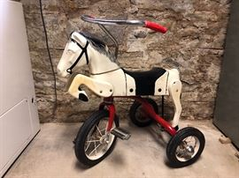 1950's Fields Mabie Corp. Tri-Pony So Cool! I've never seen one like it!