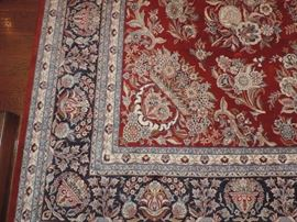 detail of carpet
