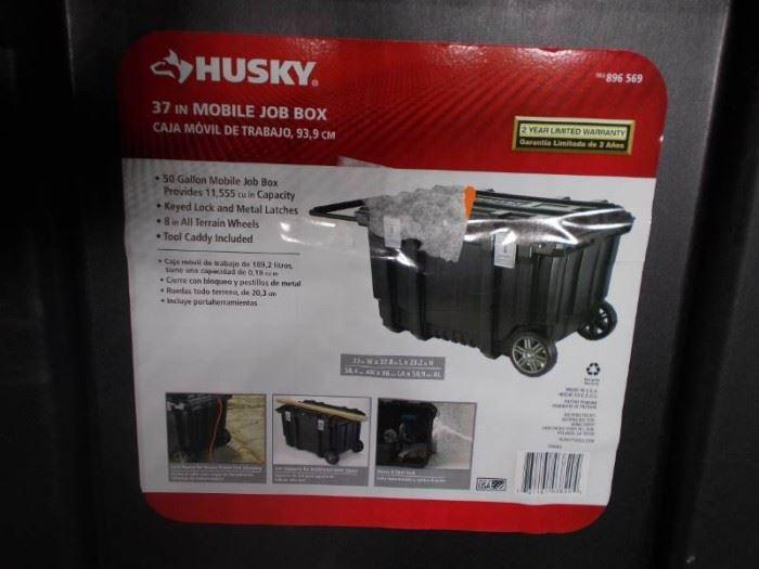 37 Husky Mobile Job Box