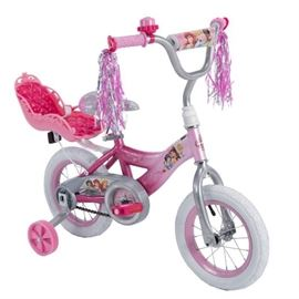 Disney Princess 12 Girls EZ Build Pink Bike, by ...
