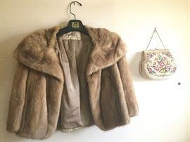 Needle Point Bag and Fur Coat https://ctbids.com/#!/description/share/101820