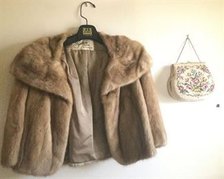 Needle Point Bag and Fur Coat https://ctbids.com/#!/description/share/101820
