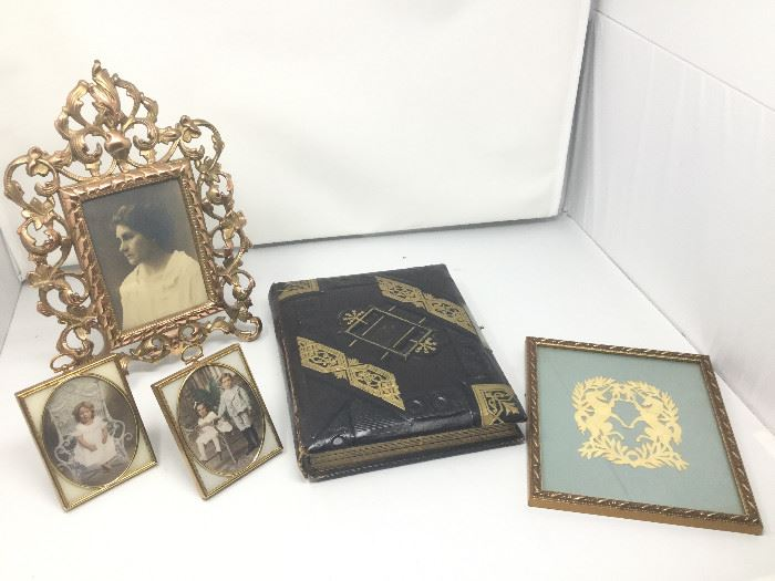 Antique Frames and Album https://ctbids.com/#!/description/share/101854