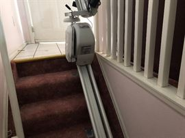 1 of 2 stair lifts