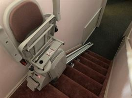 2 of 2 stair lifts