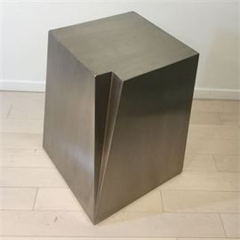 Lot 010 Gus*Modern 'Glacier' End Table