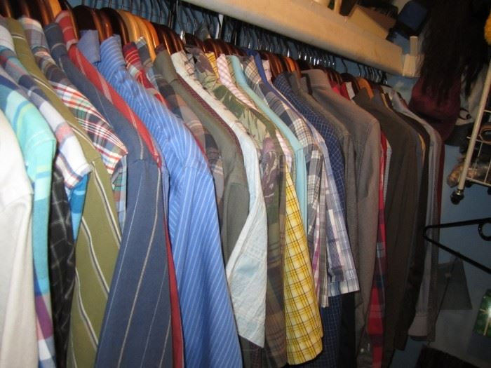 Mens clothing, neck 36