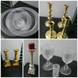 Candlesticks and Glassware https://ctbids.com/#!/description/share/102325