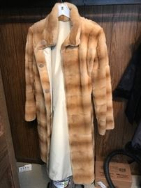 Mink Sheared jacket - reversable