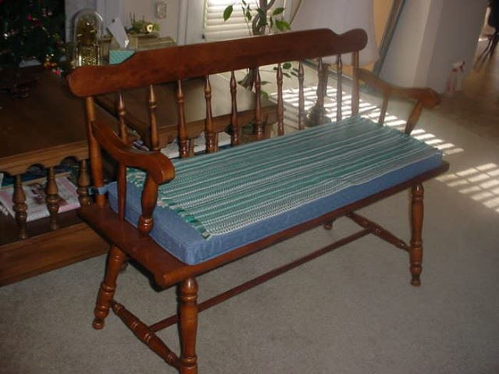 """Beautiful maple """"parsons bench"""""""