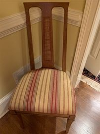 Six Drexel Dining Chairs