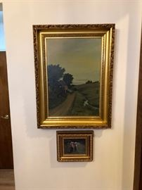another nice signed oil C.H. King