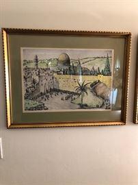 JERUSALEM WATER COLOR