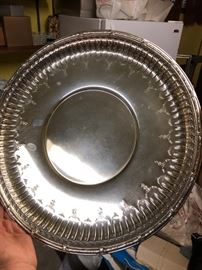 ONE OF THE GORHAM STERLING SILVER TRAYS - THIS ONE WEIGHS 44 OZ.!!!