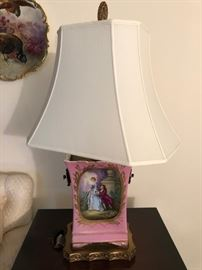 HERE IS THE SECOND HAND PAINTED LAMP