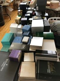 Over 100 Waterford in original unopened boxes - & many Tiffany too